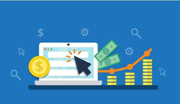 ad click on laptop generating true revenue
