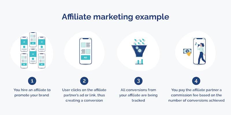 affiliate marketing fraud example opticks infographic