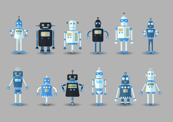 four generations of bots