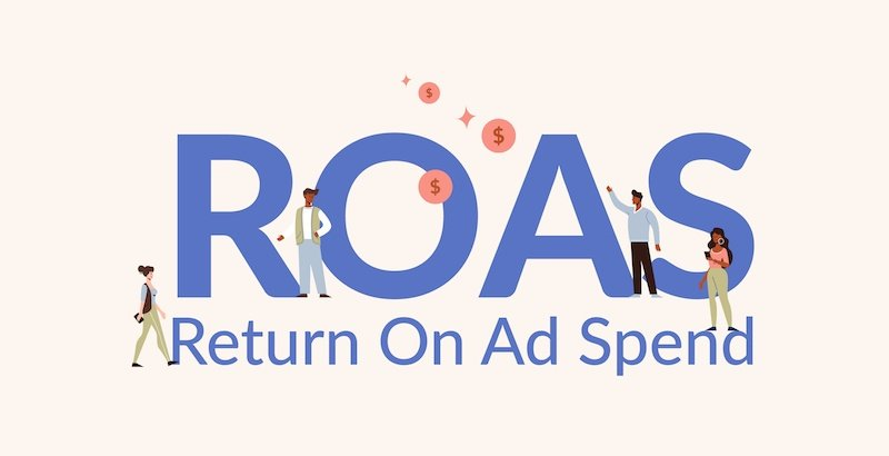 ROAS what is return on ad spend text - featured image